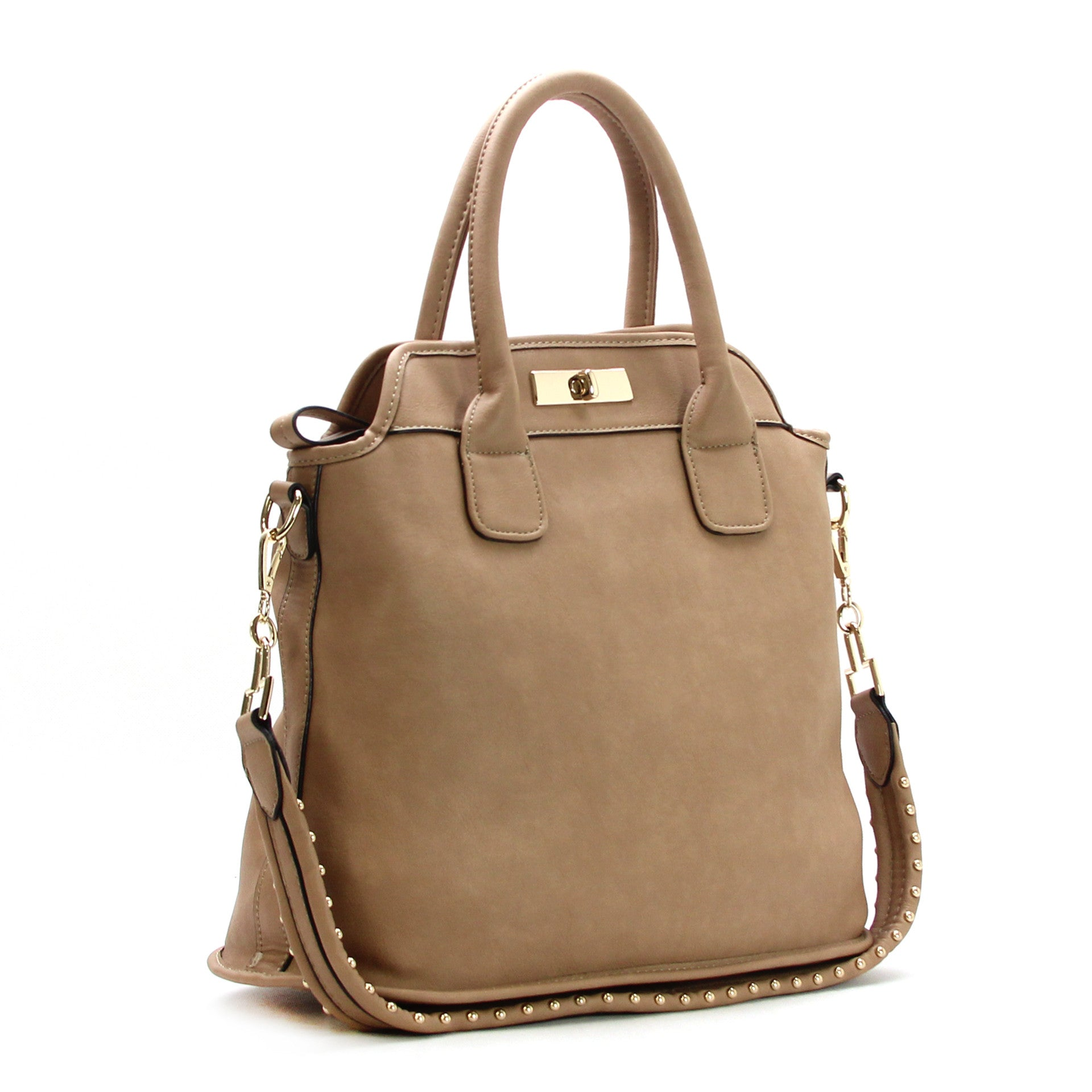 Robert Matthew Scarlett Tote - Khaki - Robert Matthew Handbags and Fashion