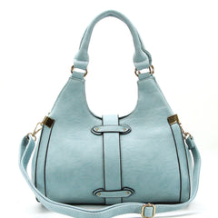 Robert Matthew Stella Satchel Tote - Saddle - Robert Matthew  - 6