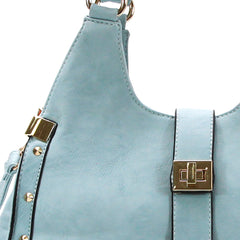 Robert Matthew Stella Satchel Tote - Saddle
