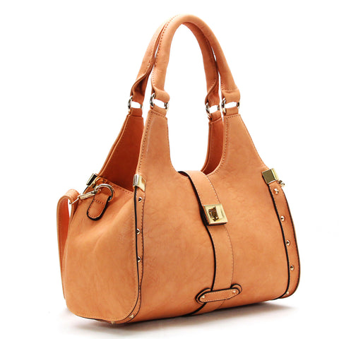 Robert Matthew Stella Satchel Tote - Sunset