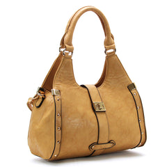 Robert Matthew Stella Satchel Tote - Saddle - Robert Matthew  - 1