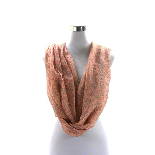 Robert Matthew Brooklyn Blossom Scarf   Pink