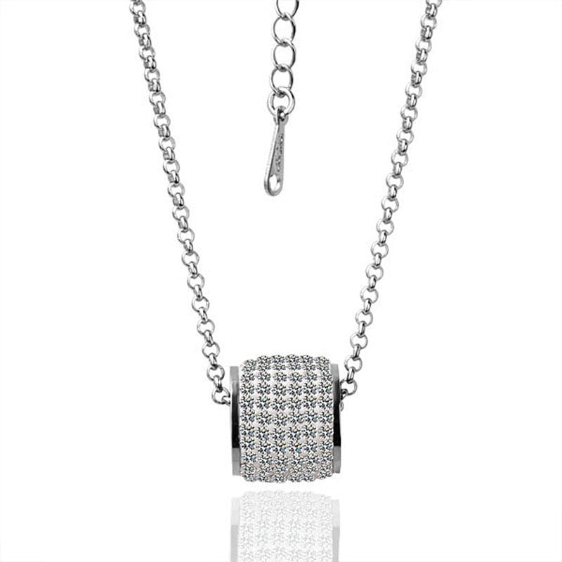 Robert Matthew Anabelle Pendant Necklace - Silver