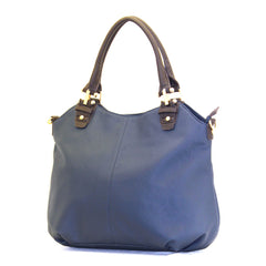 Robert Matthew Layla Tote - Blue - Robert Matthew Handbags and Fashion