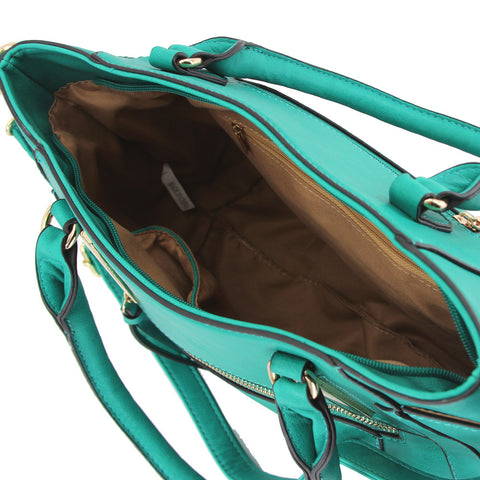 Robert Matthew Samantha Tote - Emerald Green