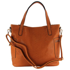 Robert Matthew Grace Tote - Saddle