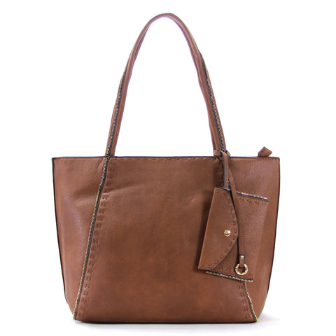 Robert Matthew Jordan Tote - Coffee