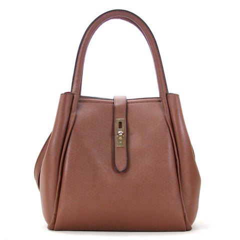 Robert Matthew Selena Tote - Chocolate - Robert Matthew Handbags and Fashion