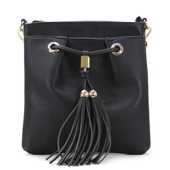 Robert Matthew Kaylee Crossbody Shoulder Bag in Black - Robert Matthew Handbags and Fashion