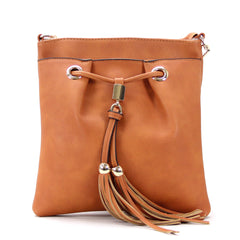 Robert Matthew Kaylee Crossbody  Shoulder Bag in Tan - Robert Matthew Handbags and Fashion