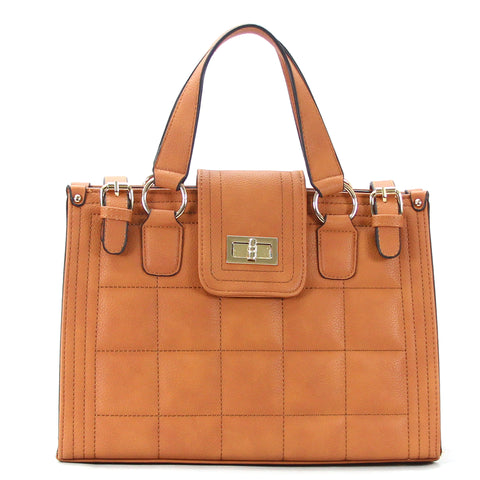 Robert Matthew Hayden Shoulder Tote in Tan