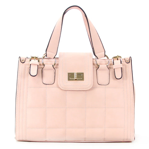 Robert Matthew Hayden Shoulder Tote in Pink
