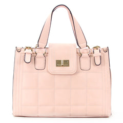 Robert Matthew Hayden Shoulder Tote in Pink - Robert Matthew Handbags and Fashion