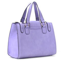 Robert Matthew Hayden Shoulder Tote in Lavender - Robert Matthew  - 2