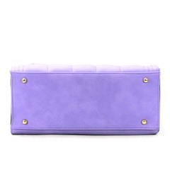 Robert Matthew Hayden Shoulder Tote in Lavender - Robert Matthew  - 4