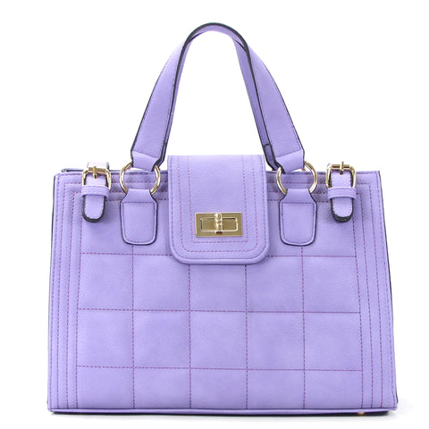 Robert Matthew Hayden Shoulder Tote in Lavender