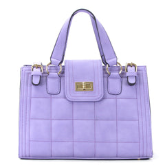 Robert Matthew Hayden Shoulder Tote in Lavender - Robert Matthew  - 1