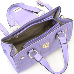 Robert Matthew Hayden Shoulder Tote in Lavender - Robert Matthew  - 6
