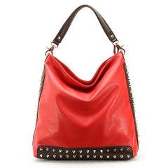 Robert Matthew Mckenzie Shoulder Bag - Red - Robert Matthew Handbags and Fashion