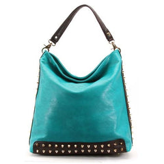 Robert Matthew Mckenzie Shoulder Bag - Turquoise - Robert Matthew Handbags and Fashion