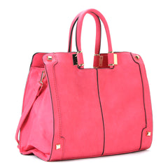 Robert Matthew Charlotte Tote - Haute Pink - Robert Matthew Handbags and Fashion