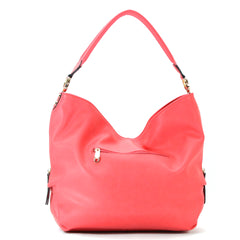 Robert Matthew Madison Shoulder Bag - Coral Pink