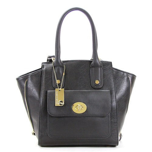 Robert Matthew Gigi Tote   Black