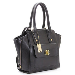 All Styles,Totes,New Arrivals,Shoulder Bags,Tote,Shoulder Bag,Bag - Robert Matthew Gigi Tote - Black