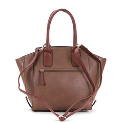 All Styles,Totes,New Arrivals,Shoulder Bags,Tote,Shoulder Bag,Bag - Robert Matthew Gigi Tote - Mocha