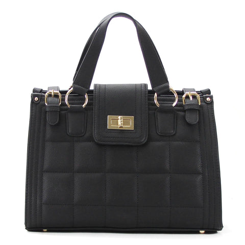 Robert Matthew Hayden Shoulder Tote in Black