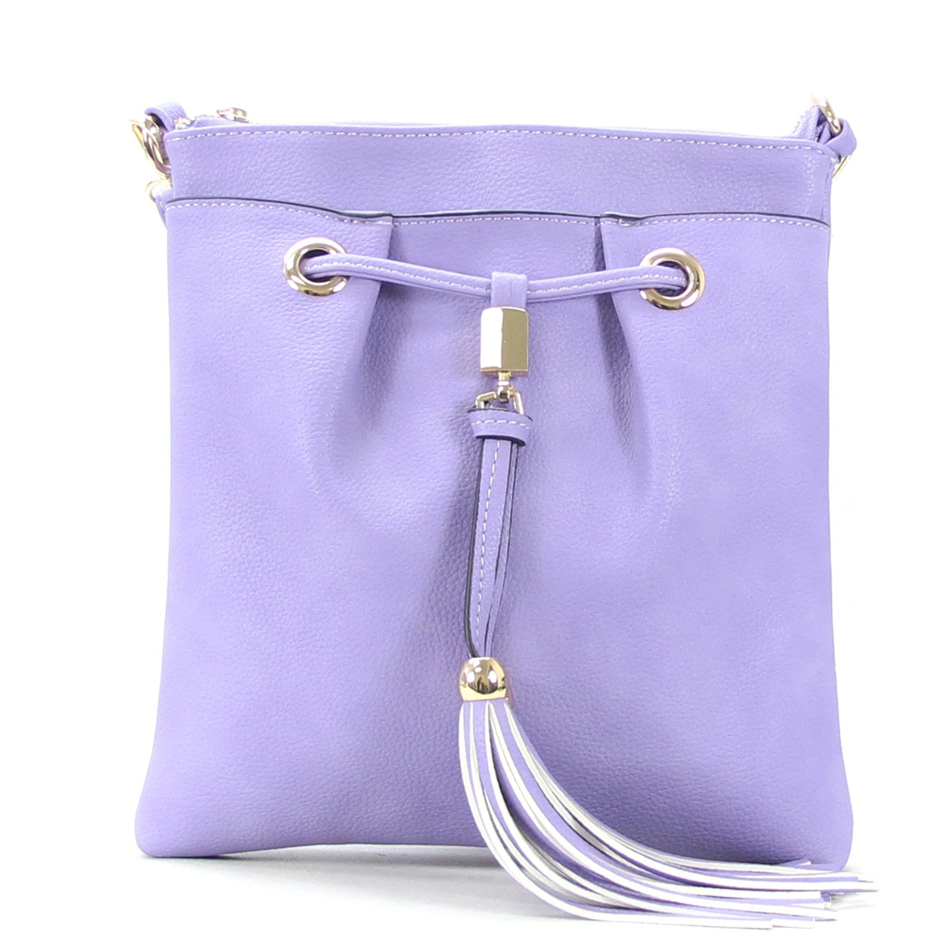All Styles,Totes,New Arrivals,Shoulder Bags,Tote,Shoulder Bag,Bag - Robert Matthew Kaylee Crossbody Shoulder Bag In Lavender