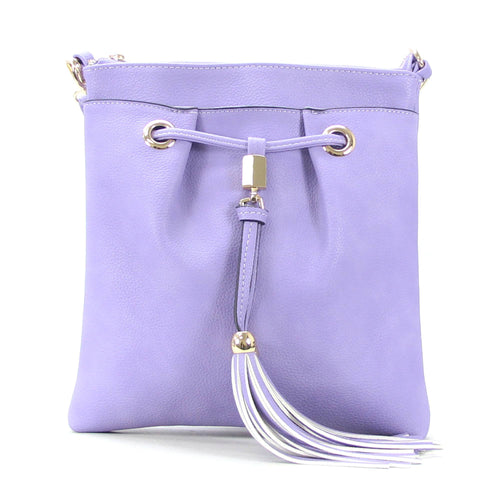 Robert Matthew Kaylee Crossbody Shoulder Bag in Lavender