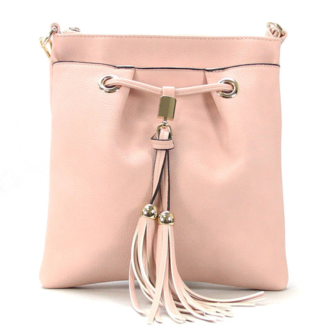 Robert Matthew Kaylee Crossbody Shoulder Bag in Pink