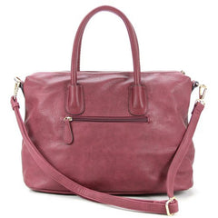 All Styles,Totes,New Arrivals,Shoulder Bags,Tote,Shoulder Bag,Bag - Robert Matthew Nina Tote - Cranberry Marsala