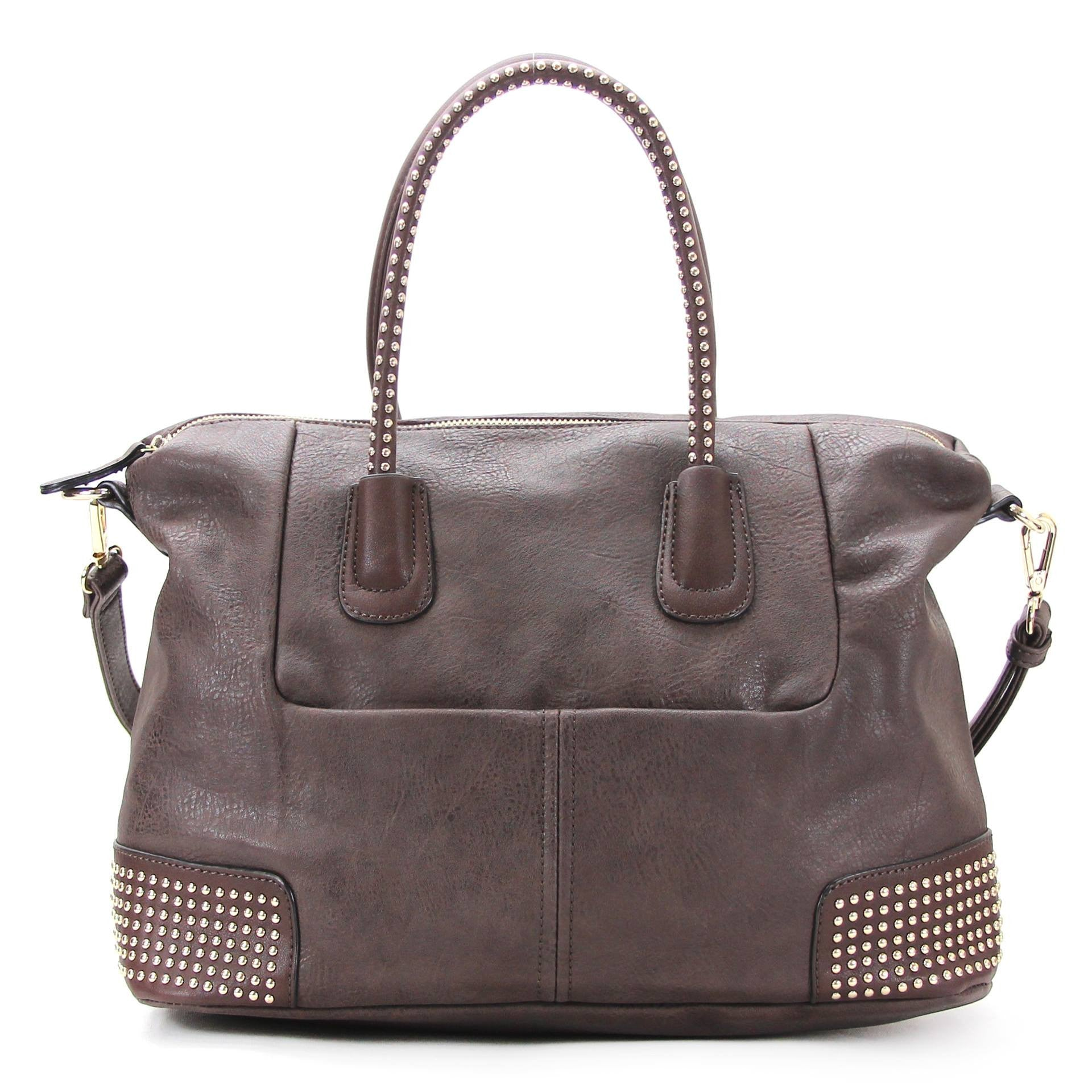 All Styles,Totes,New Arrivals,Shoulder Bags,Tote,Shoulder Bag,Bag - Robert Matthew Nina Tote - Dark Chocolate