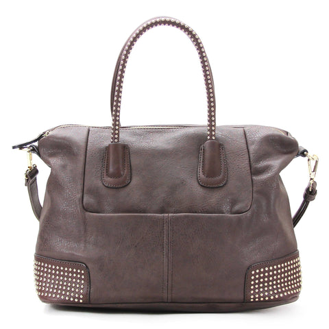 Robert Matthew Nina Tote - Dark Chocolate