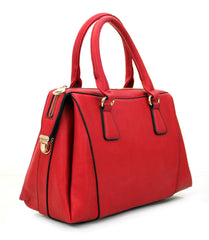 All Styles,Totes,New Arrivals,Shoulder Bags,Tote,Shoulder Bag,Bag - Robert Matthew Rachel Tote - Cherry