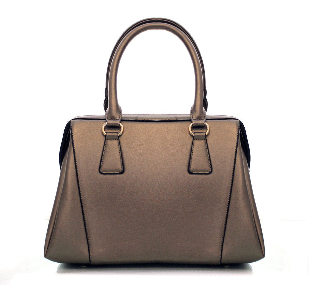 Robert Matthew Rachel Tote   Metallic Copper