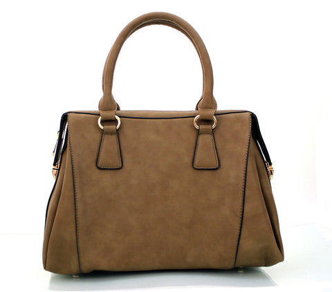 Robert Matthew Rachel Tote - Warm Chesnut