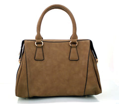 All Styles,Totes,New Arrivals,Shoulder Bags,Tote,Shoulder Bag,Bag - Robert Matthew Rachel Tote - Warm Chesnut