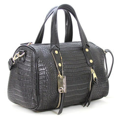 All Styles,Totes,New Arrivals,Shoulder Bags,Tote,Shoulder Bag,Bag - Robert Matthew Sienna Tote - Black