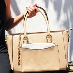 Robert Matthew Paige Tote - Latte - Robert Matthew  - 5