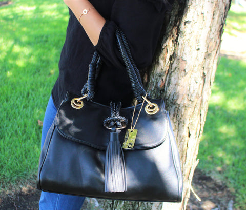 Robert Matthew Kate Shoulder Bag - Black