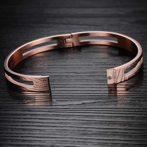 Robert Matthew Rose Gold Madison Bangle