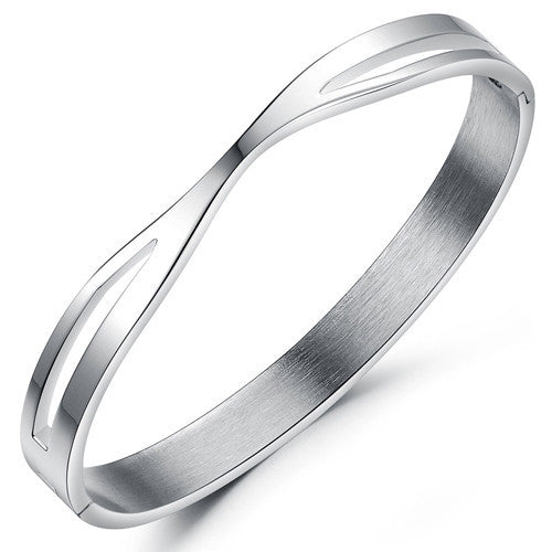 Bracelet, Bangle, Jewelry - Robert Matthew Silver Ashley Bangle