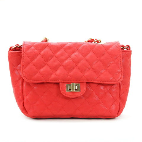 Robert Matthew Bella Crossbody Shoulder Bag - Red