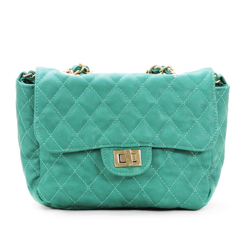 Robert Matthew Bella Crossbody Shoulder Bag - Teal