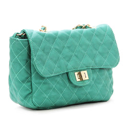 Crossbody, Shoulder Bag - Robert Matthew Bella Crossbody Shoulder Bag - Teal