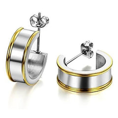 Earrings, Jewelry - Robert Matthew Eva Hoop Earrings
