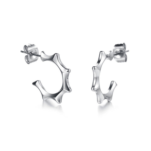 Robert Matthew Silver Brooklyn Earrings